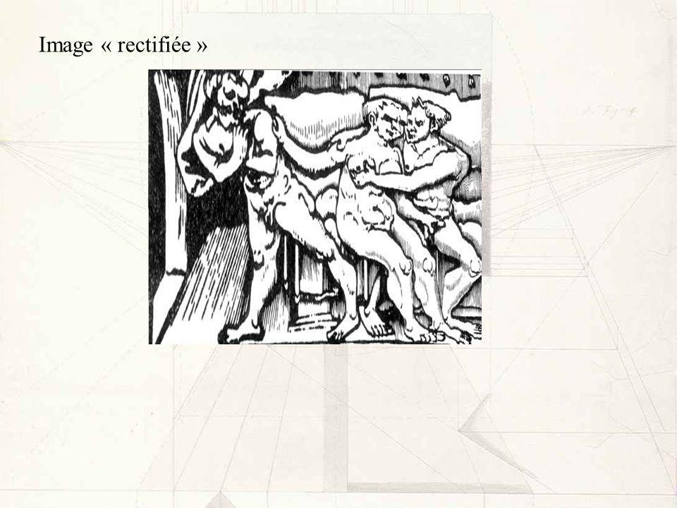 Image « rectifiée »