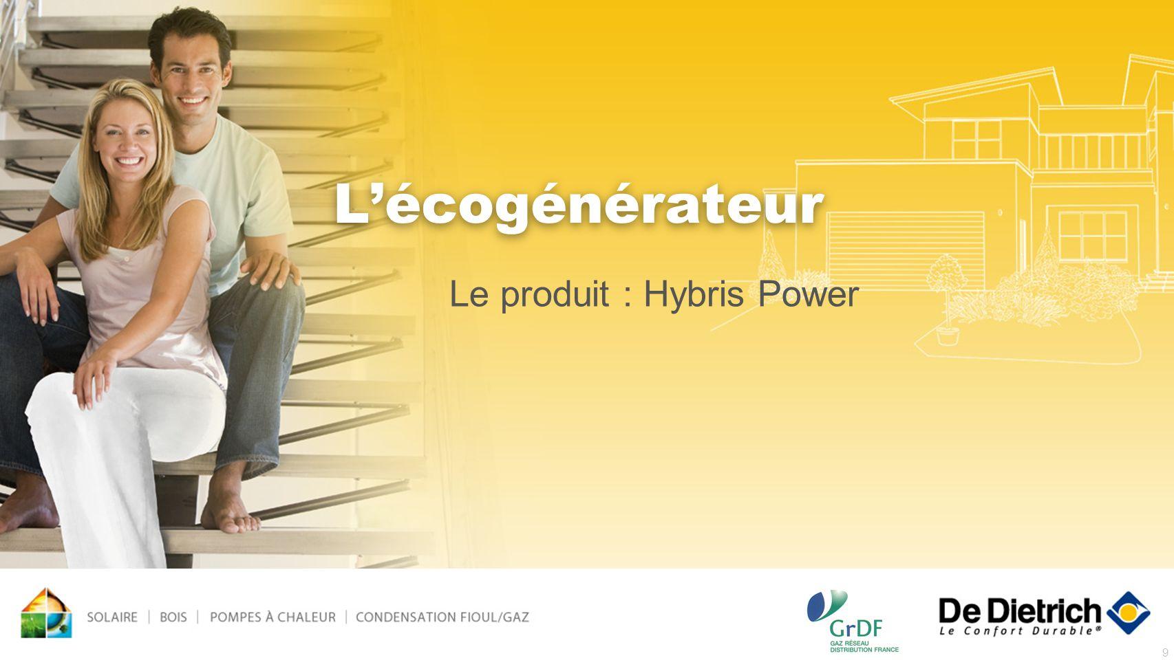 9 Lécogénérateur Le produit : Hybris Power