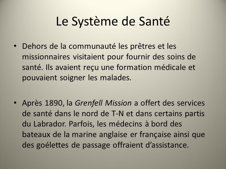 Le Système de Santé Dehors de la communauté les prêtres et les missionnaires visitaient pour fournir des soins de santé. Ils avaient reçu une formatio