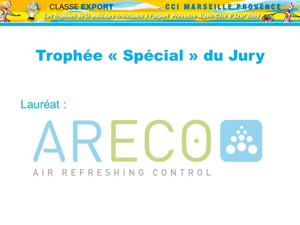 Lauréat : Trophée « Spécial » du Jury