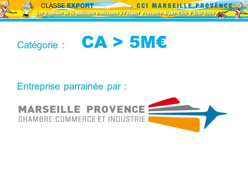 CA > 5M Catégorie : Entreprise parrainée par :