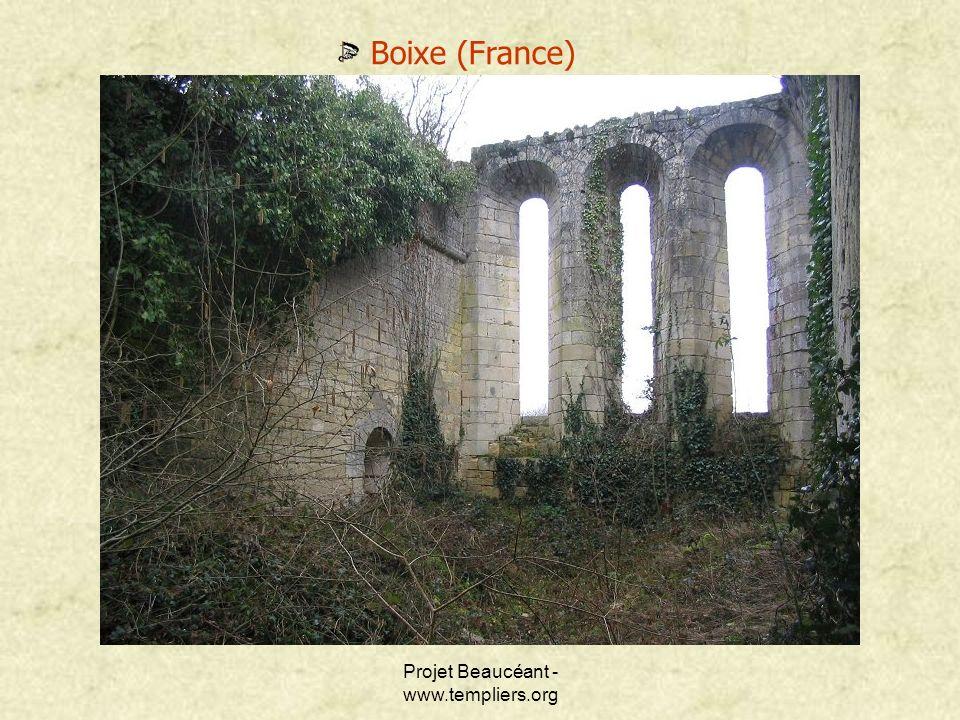 Projet Beaucéant - www.templiers.org Boixe (France)