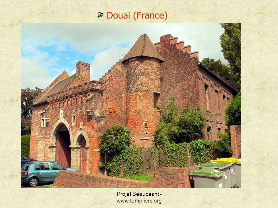 Projet Beaucéant - www.templiers.org Douai (France)