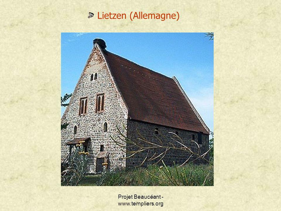 Projet Beaucéant - www.templiers.org Lietzen (Allemagne)