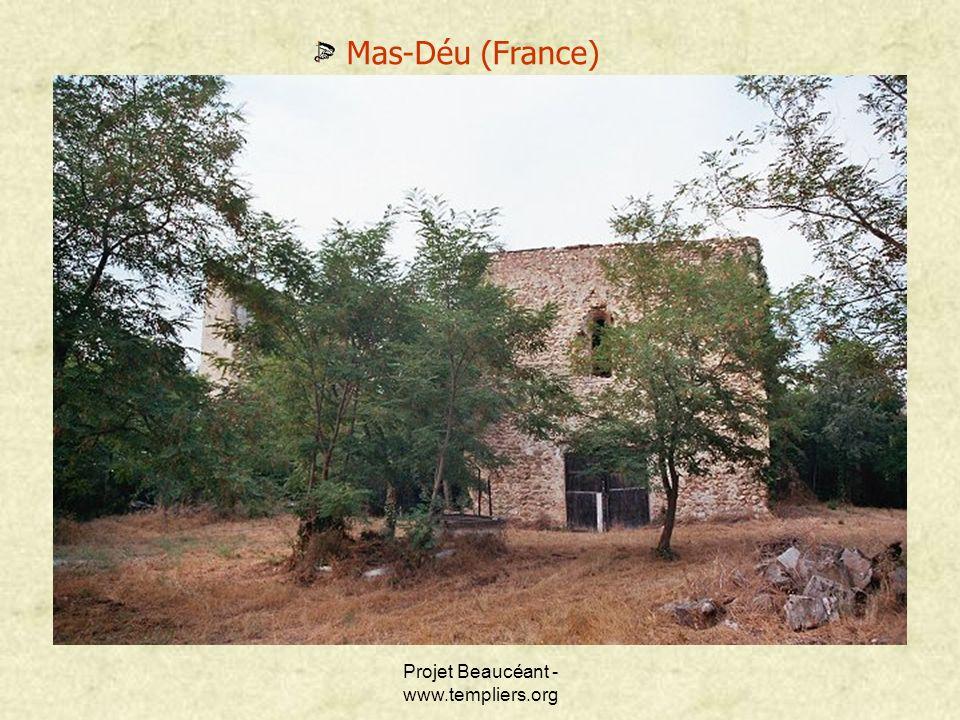 Projet Beaucéant - www.templiers.org Mas-Déu (France)