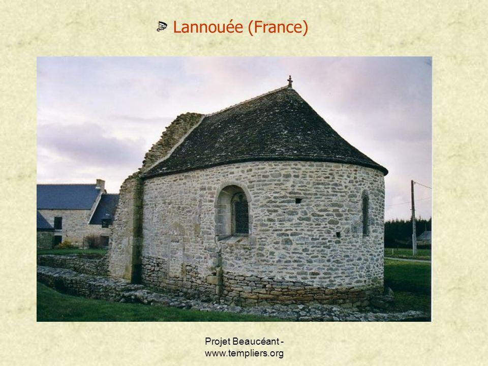 Projet Beaucéant - www.templiers.org Lannouée (France)