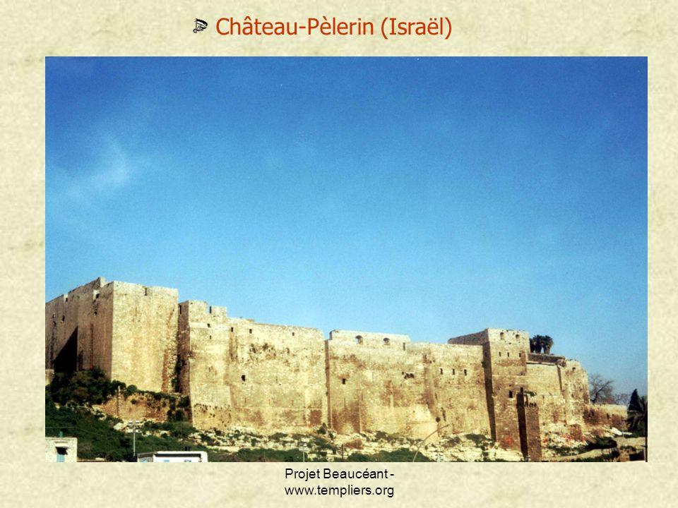 Projet Beaucéant - www.templiers.org Château-Pèlerin (Israël)