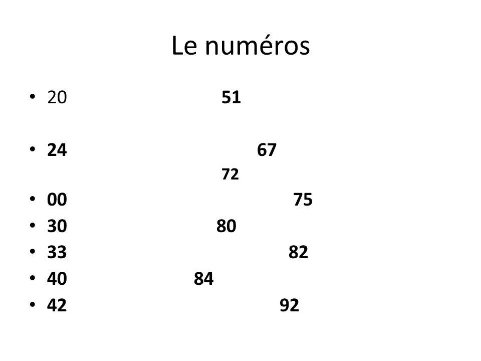 Pierre Pierre 45 Dinard 00 33 43 24 55 chauffeur Gérard 30 Paris 00 33 63 44 30 mécanique