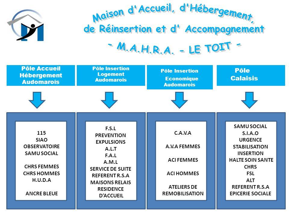 III -POLE INSERTION PAR LECONOMIQUE ACTIVITES : Bucheronnage Entretien espaces verts Entretien bâtiments Mécanique Conditionnements A – C.