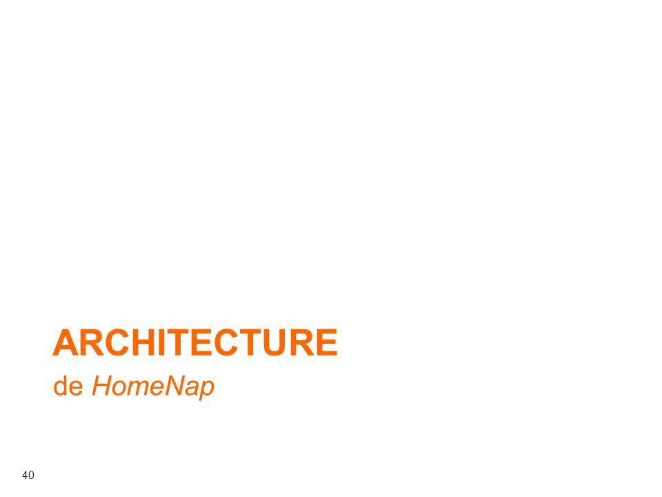 40 ARCHITECTURE de HomeNap