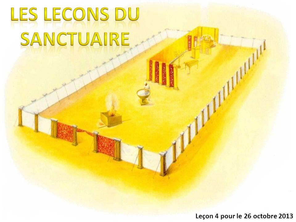 1.Les enseignements des différents lieux, et des objets qui meublaient le sanctuaire.