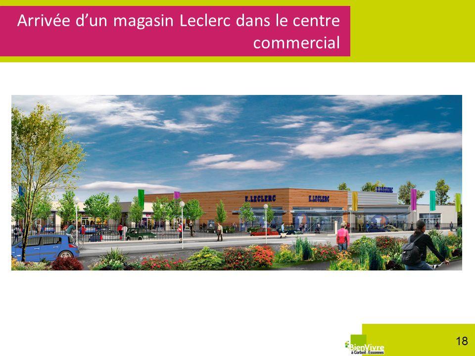 Arrivée dun magasin Leclerc dans le centre commercial 18