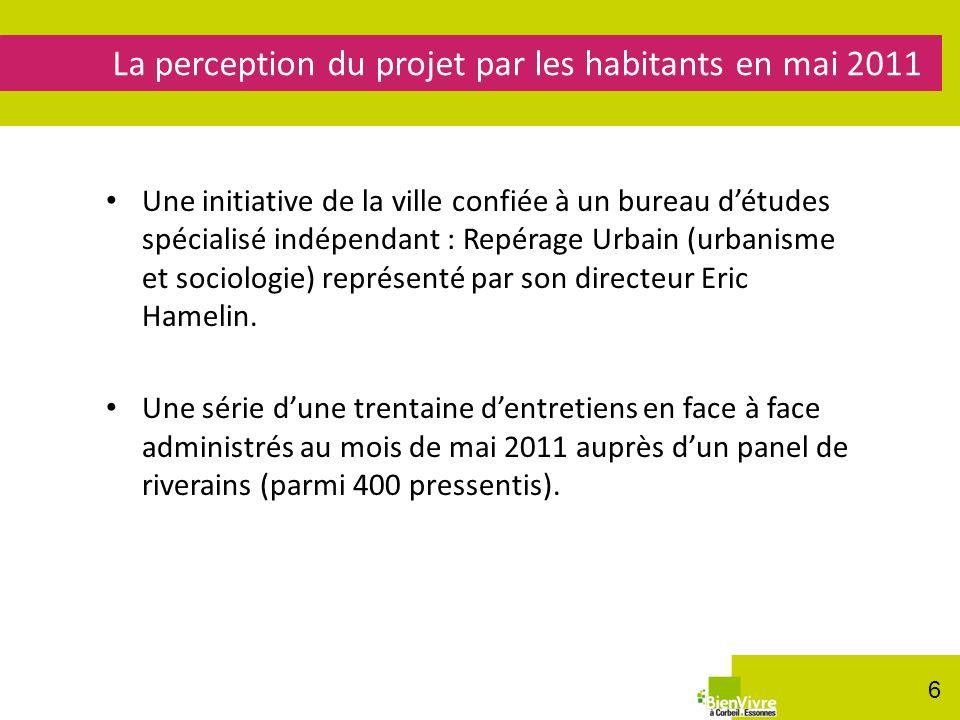 Une initiative de la ville confiée à un bureau détudes spécialisé indépendant : Repérage Urbain (urbanisme et sociologie) représenté par son directeur