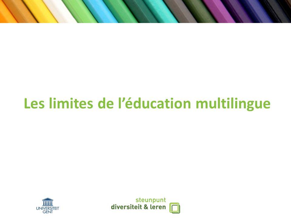 Education multilingue vs.