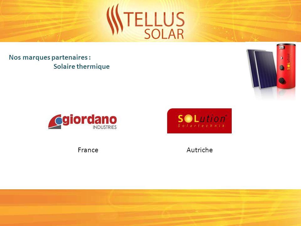Nos marques partenaires : Pompe à chaleur JaponAllemagne Français Allemagne / France