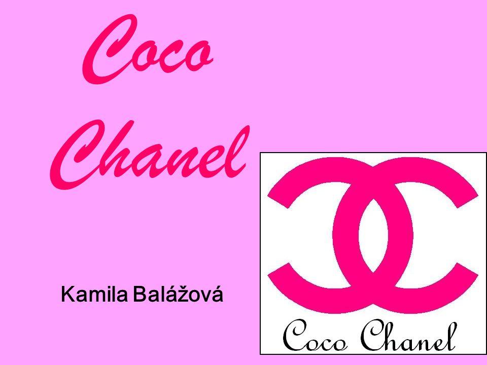 Coco Chanel Kamila Balážová