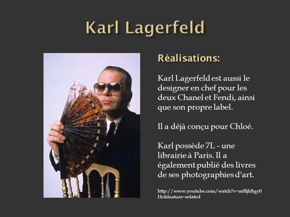 Karl Lagerfeld est né à Hambourg en 1938.