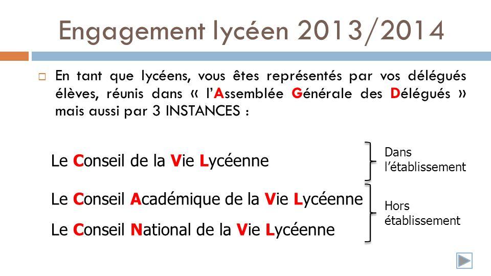 Les différentes Instances LAssemblée Générale des Délégués