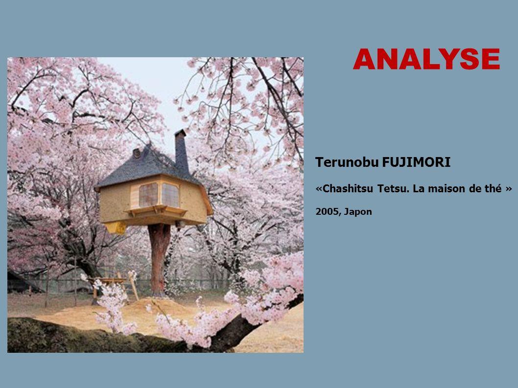 Terunobu FUJIMORI «Chashitsu Tetsu. La maison de thé » 2005, Japon ANALYSE