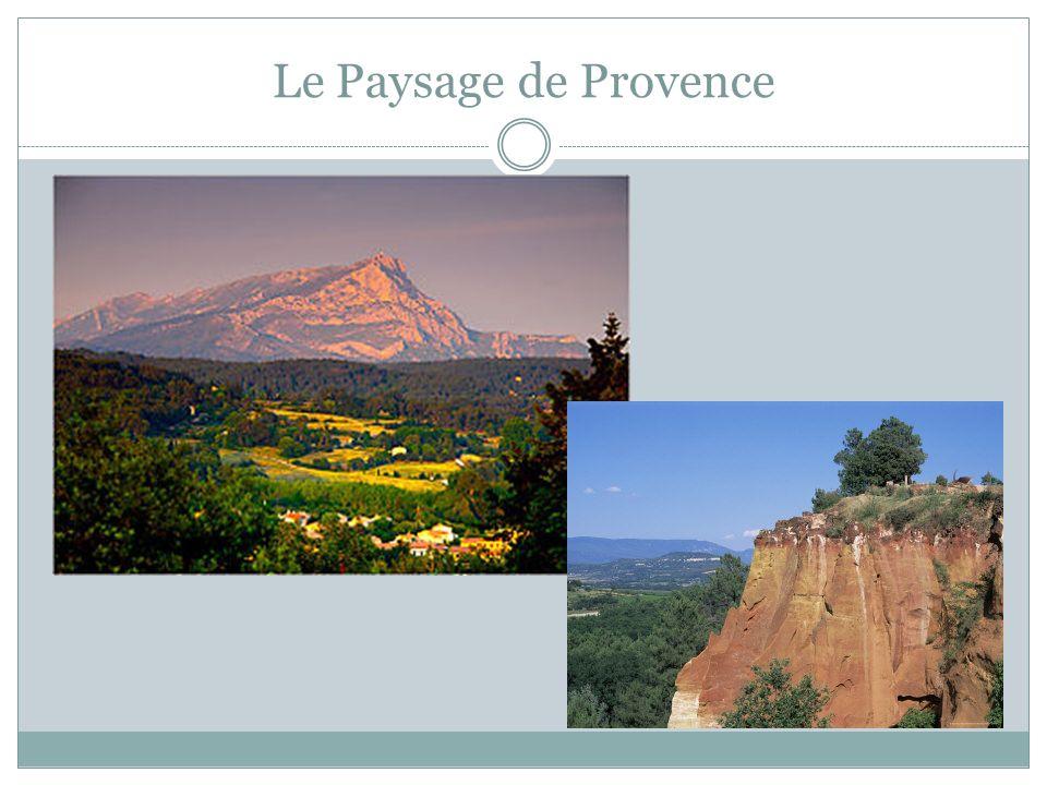 Le Paysage de Provence