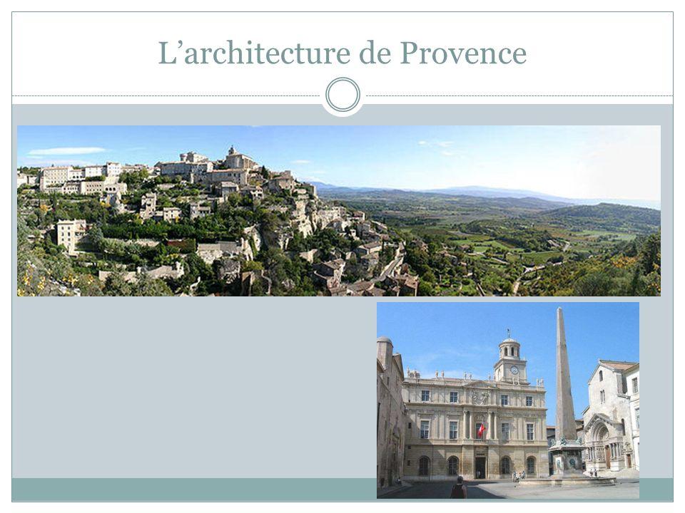 Larchitecture de Provence