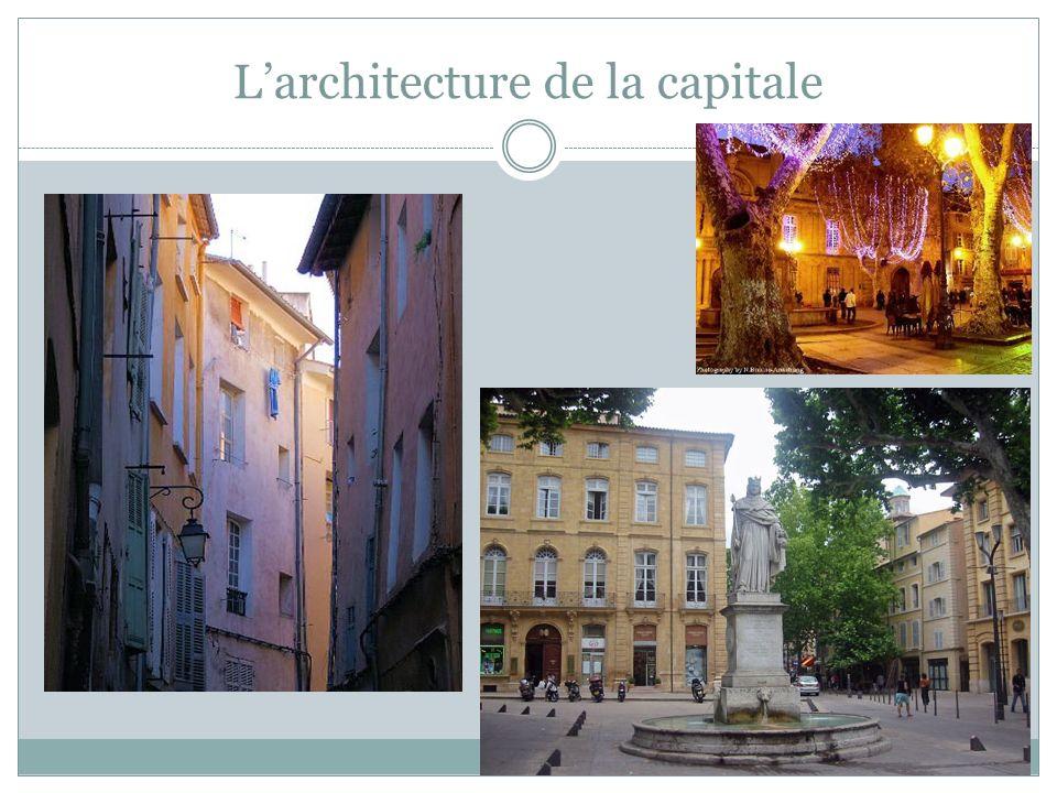Larchitecture de la capitale