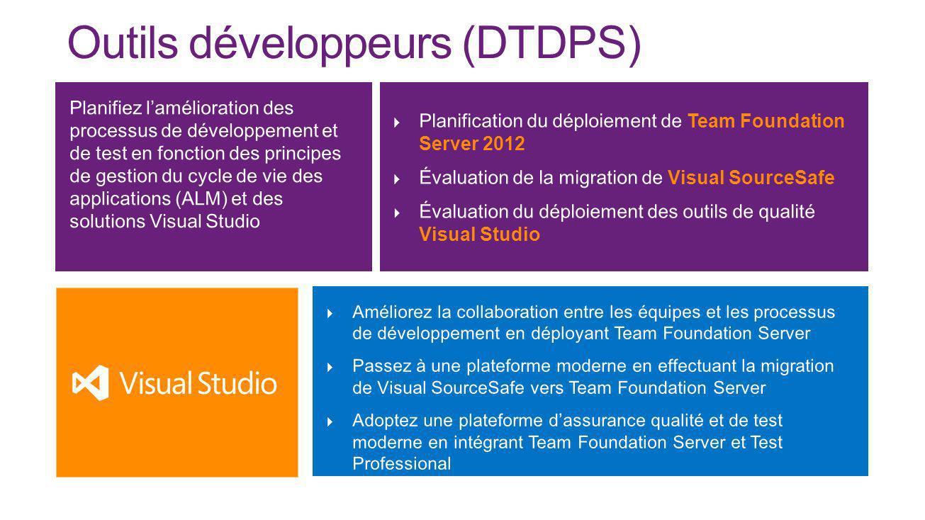 Outils développeurs (DTDPS)
