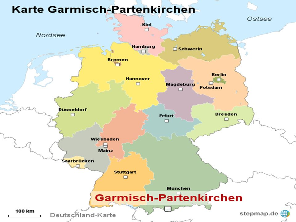 Lhistoire de Garmisch-Partenkirchen Garmisch et Partenkirchen étaient deux communes séparées pendant plusieurs siècles.
