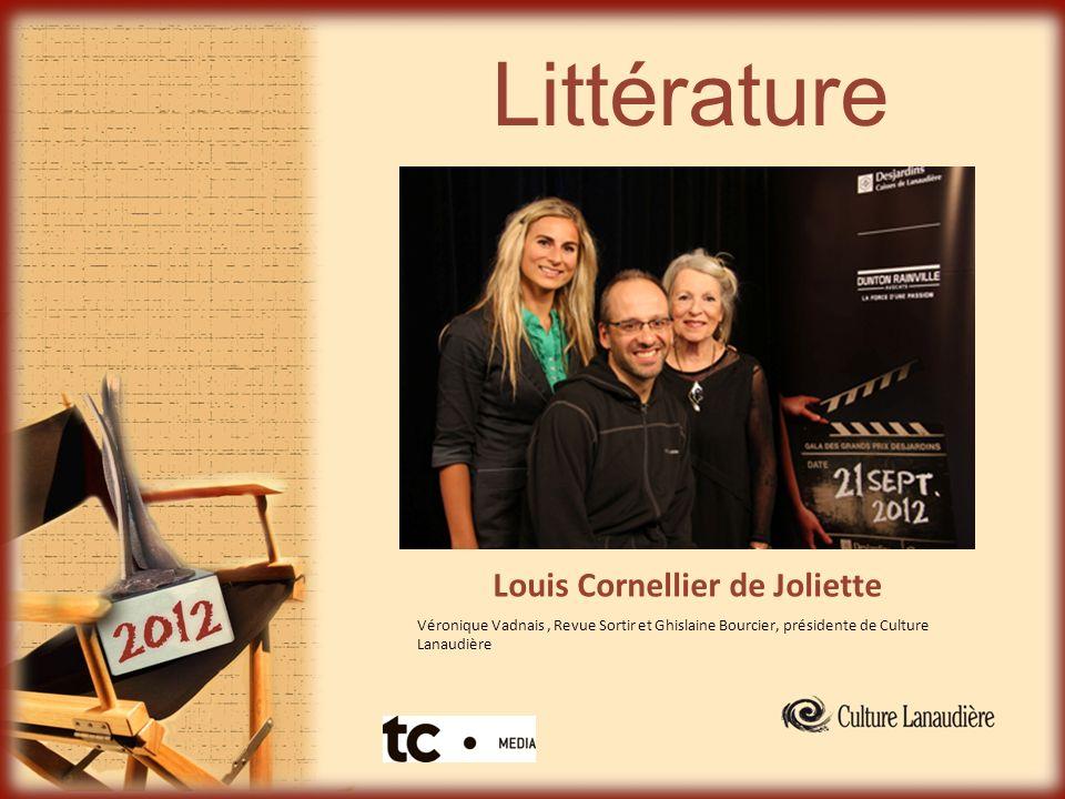 Littérature Louis Cornellier de Joliette Véronique Vadnais, Revue Sortir et Ghislaine Bourcier, présidente de Culture Lanaudière