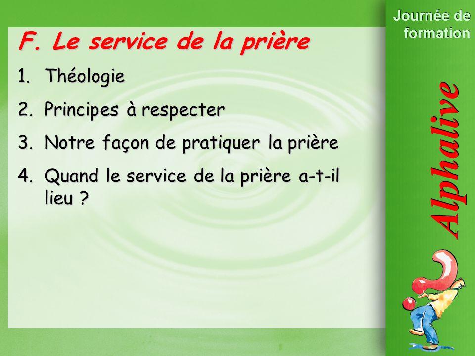 Les Principes dAlpha 2. Lévangélisation est un … F.
