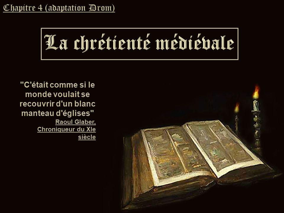 1.LOccident christianisé A. Léglise au cœur des sociétés humaines B.