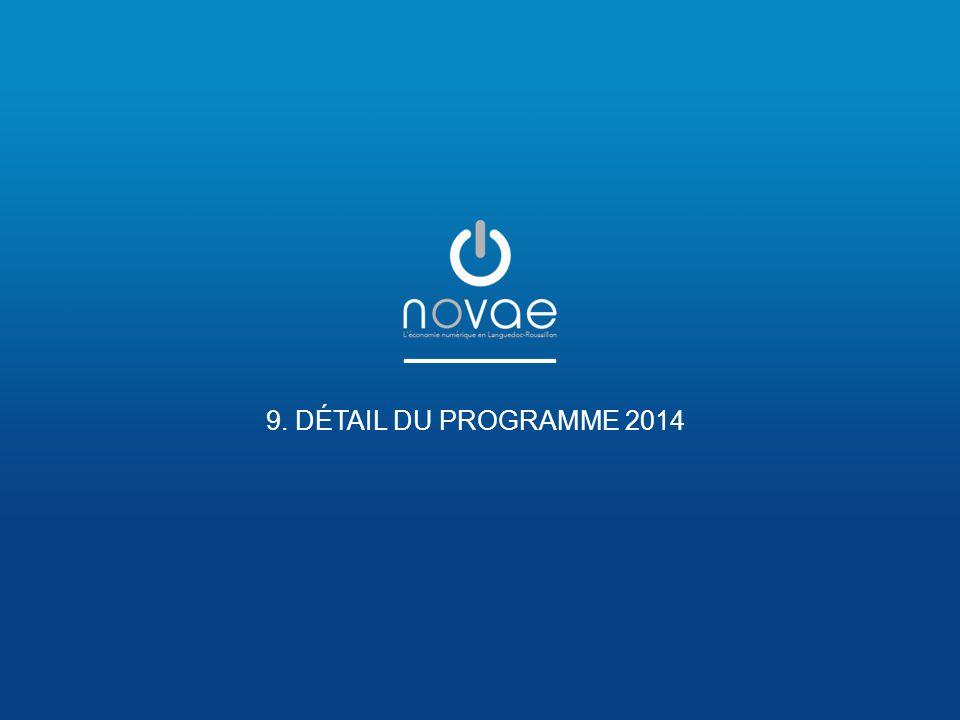 9. DÉTAIL DU PROGRAMME 2014