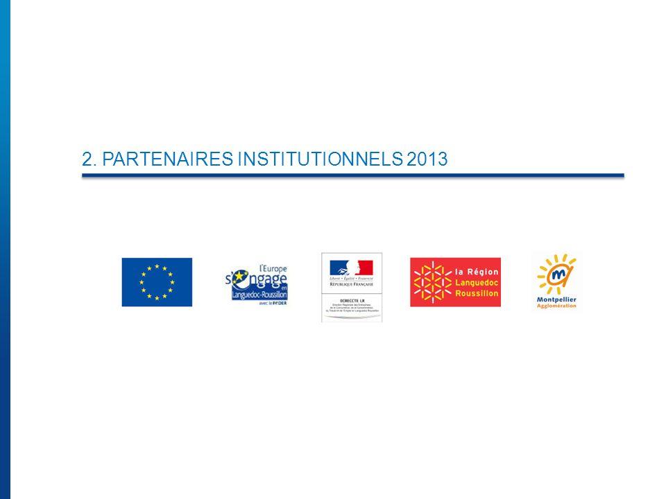 2. PARTENAIRES INSTITUTIONNELS 2013