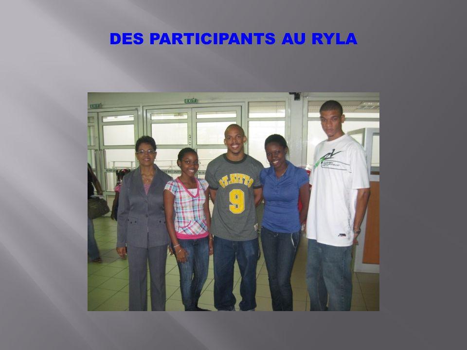 DES PARTICIPANTS AU RYLA