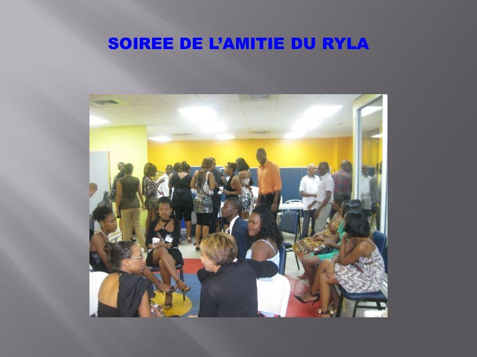 SOIREE DE LAMITIE DU RYLA