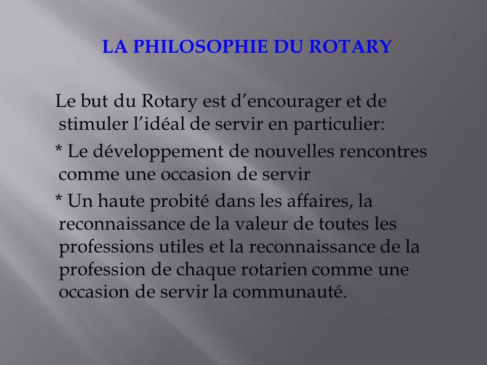 Cest le programme le plus ancien et le plus connu de la Fondation Rotary.