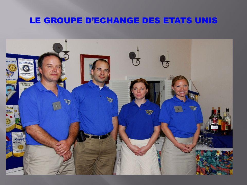 LE GROUPE DECHANGE DES ETATS UNIS