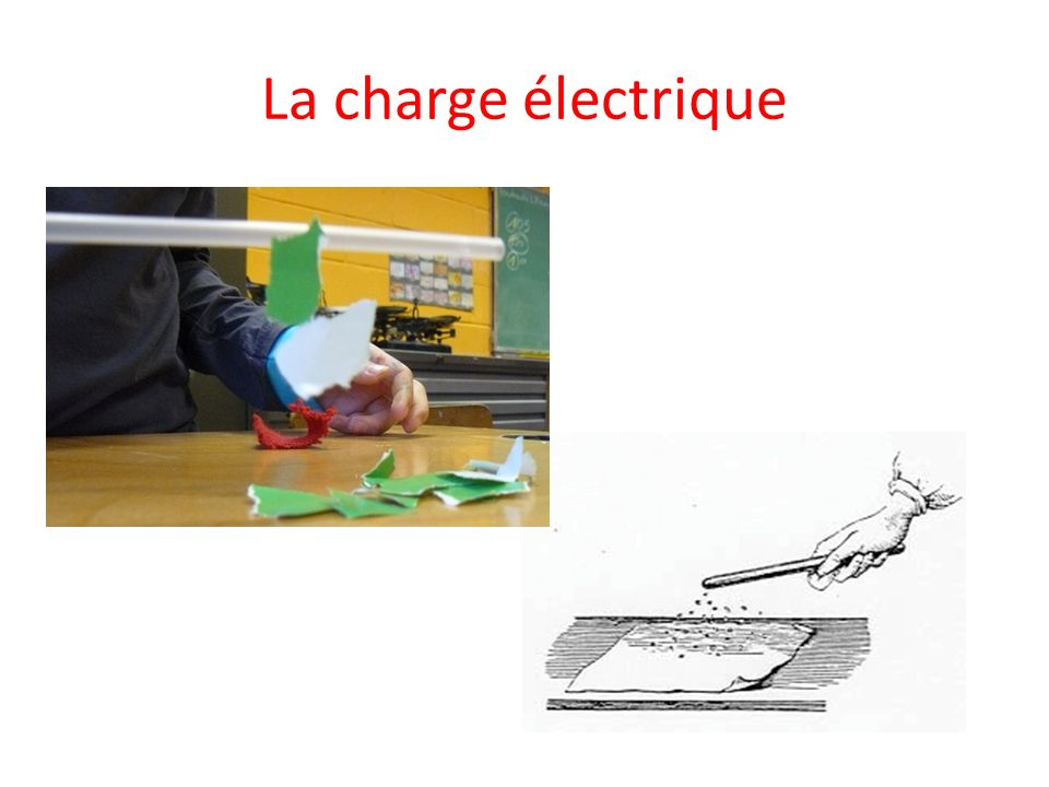 La charge électrique