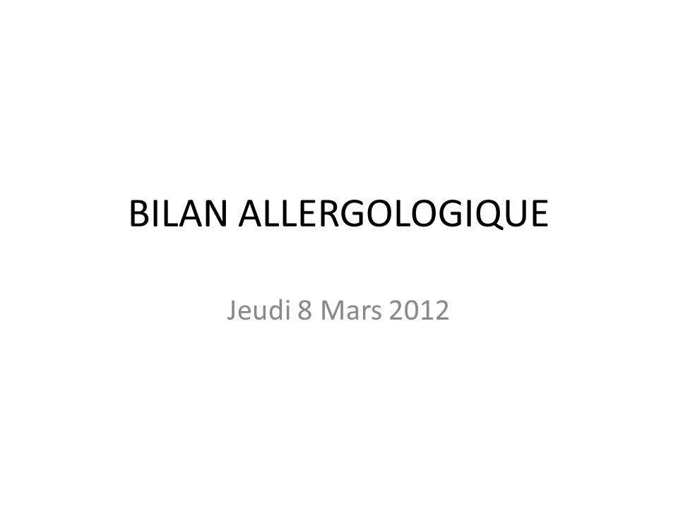 CLASSIFICATION Allergie de type I: Hypersensibilité Immédiate atopique ou anaphylactique: AC circulants Allergie de type II: Ag-Ac + C avec réaction cytotoxique.