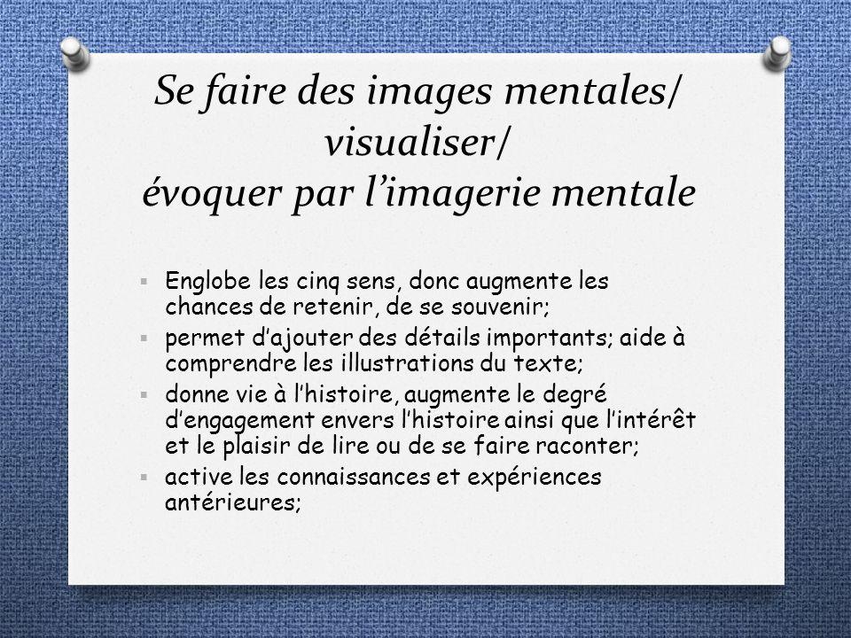 Englobe les cinq sens, donc augmente les chances de retenir, de se souvenir; permet dajouter des détails importants; aide à comprendre les illustratio