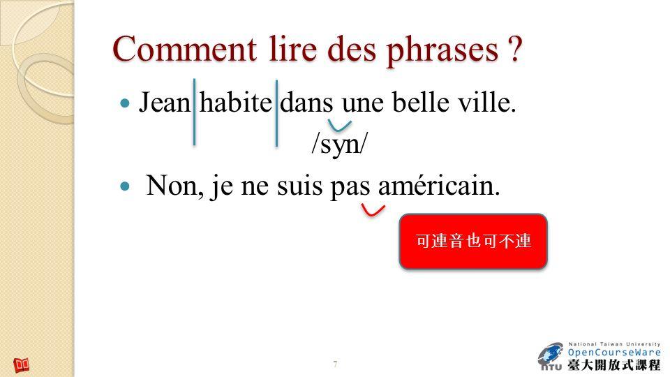 Alphabet phon Alphabet phonétique international pour le français.