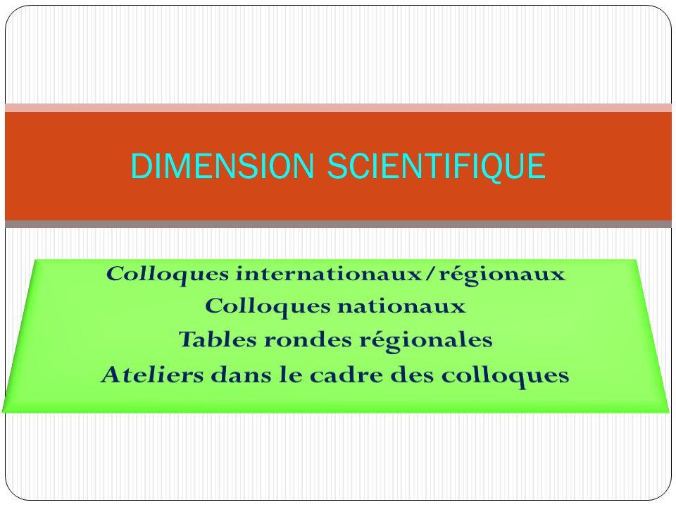 DIMENSION SCIENTIFIQUE