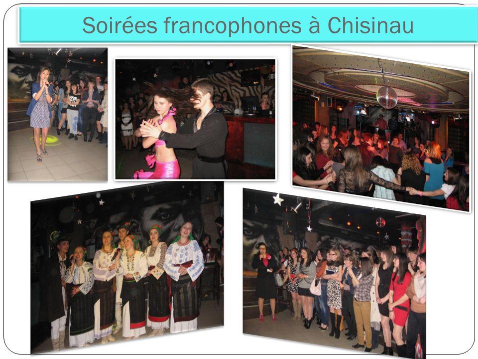 Soirées francophones à Chisinau
