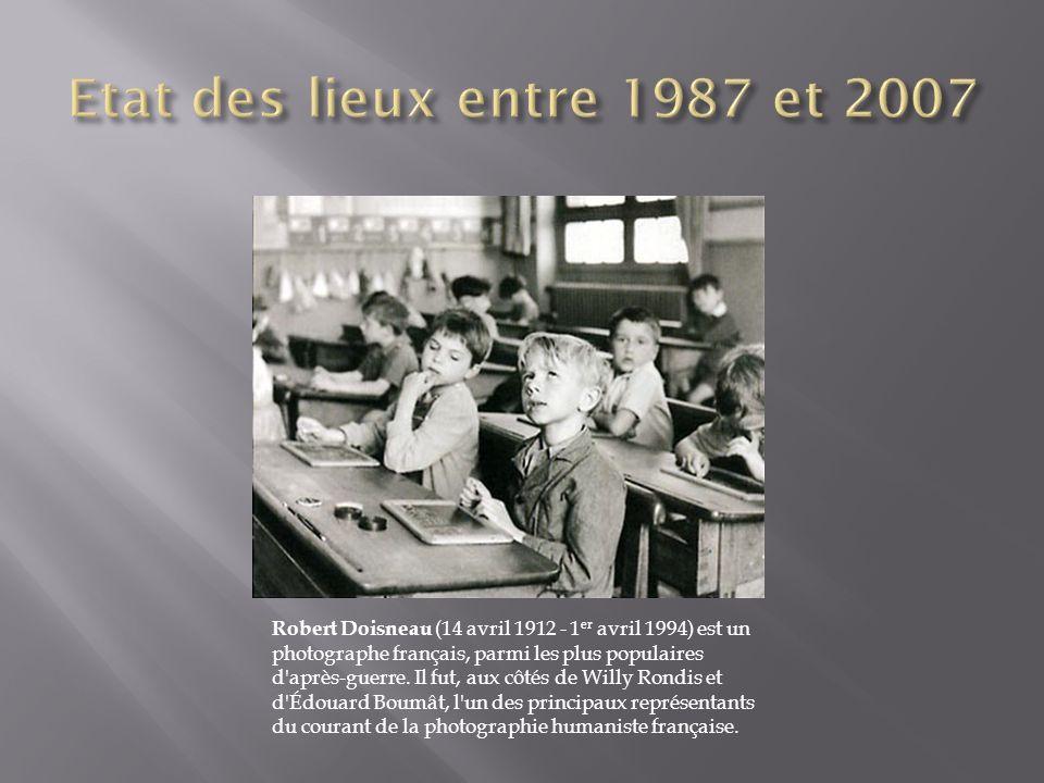 . Robert Doisneau (14 avril 1912 - 1 er avril 1994) est un photographe français, parmi les plus populaires d'après-guerre. Il fut, aux côtés de Willy