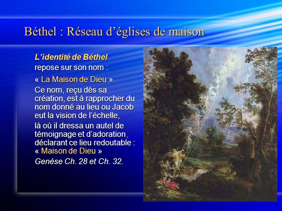 Lidentité de Béthel Cest aussi lévocation de la maison.