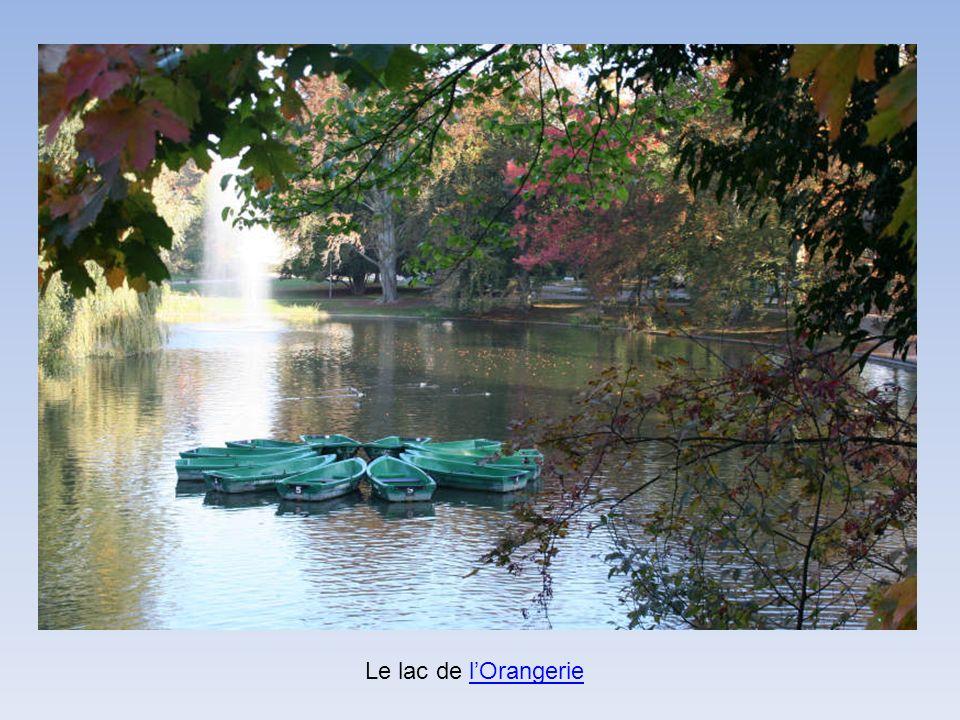 Le lac de lOrangerielOrangerie