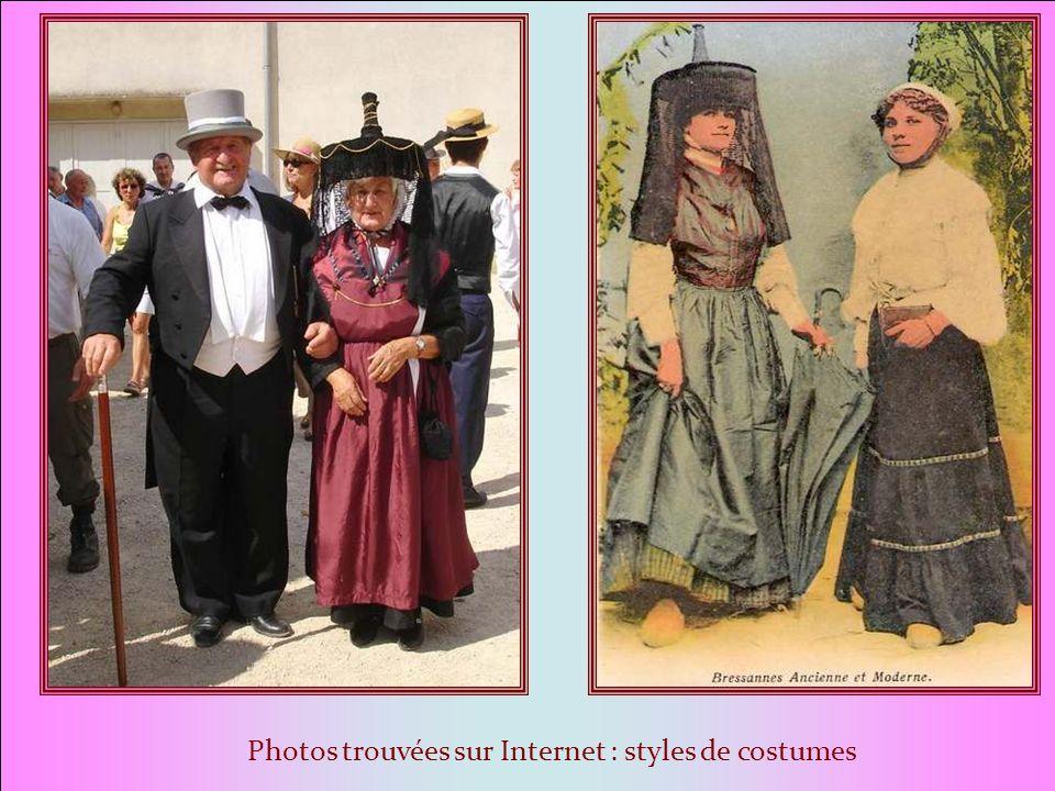 LE COSTUME peut varier selon les siècles et les occasions. Mais certaines caractéristiques sont Invariables. Le bressan Le costume est caractérisé par
