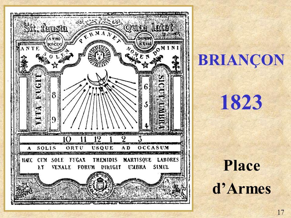 Place dArmes BRIANÇON 1823 17