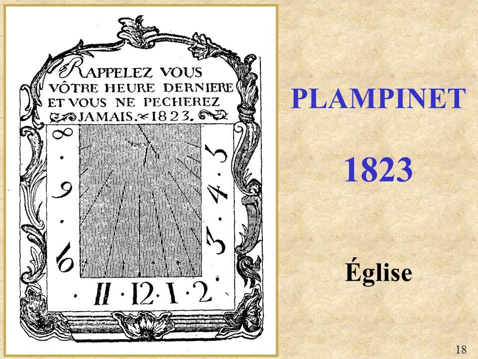 Église PLAMPINET 1823 18
