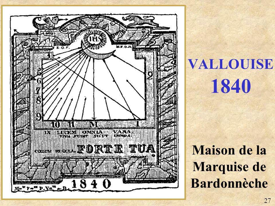 Maison de la Marquise de Bardonnèche VALLOUISE 1840 27